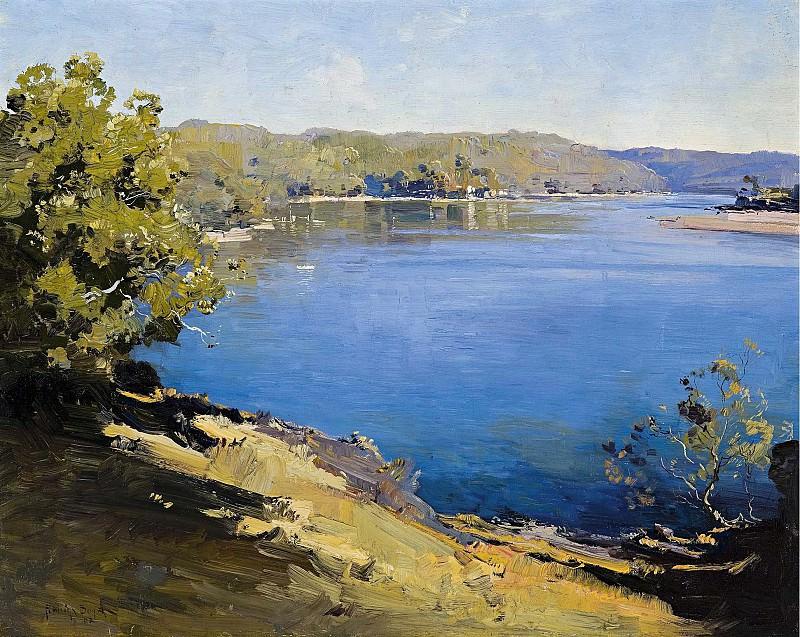Pengleigh Boyd - Hawkesbury River, 1922. Sotheby's