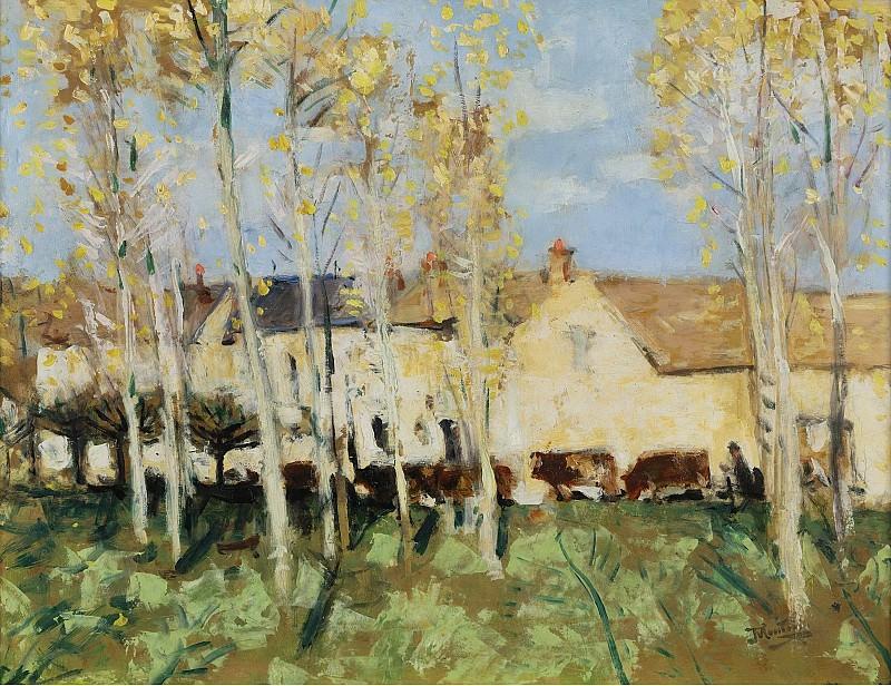 Pierre-Eugene Montezin - Misy sur Yonne. Sotheby's