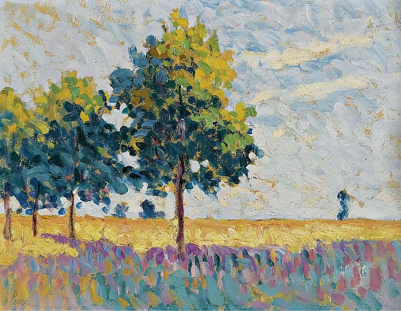 Люс, Максимильен - Landscape 01. Картины с аукционов Sotheby's