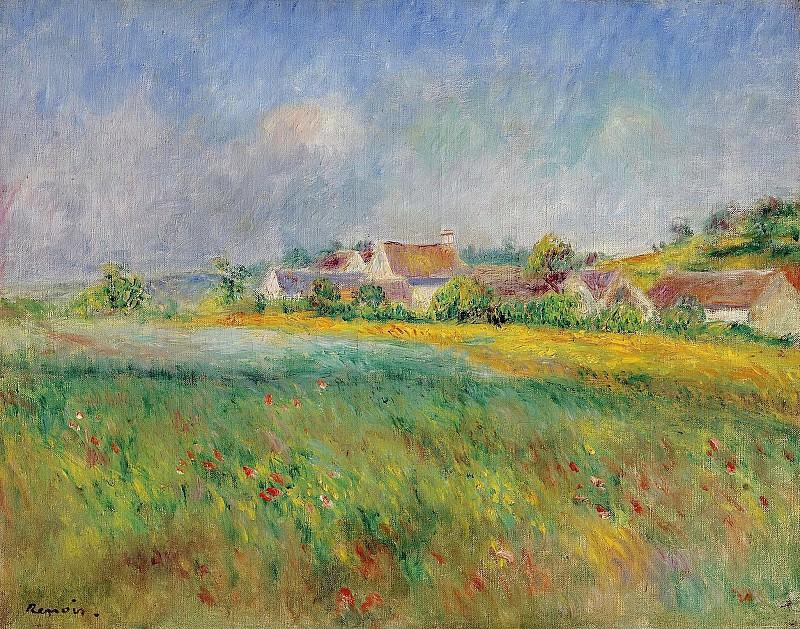 Pierre Auguste Renoir - The Village of Bonnecourt. Sotheby's