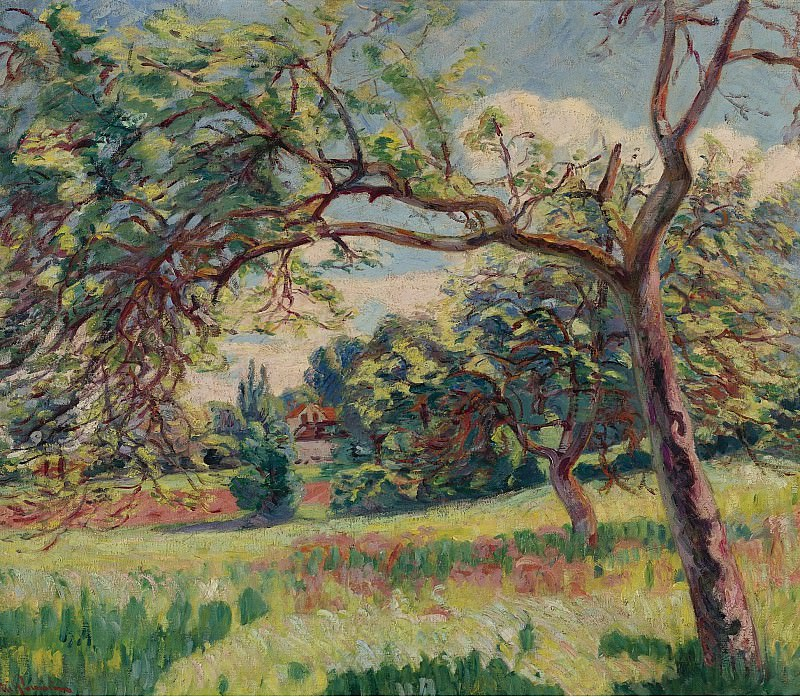 Armand Guillaumin - Landscape. Sotheby's