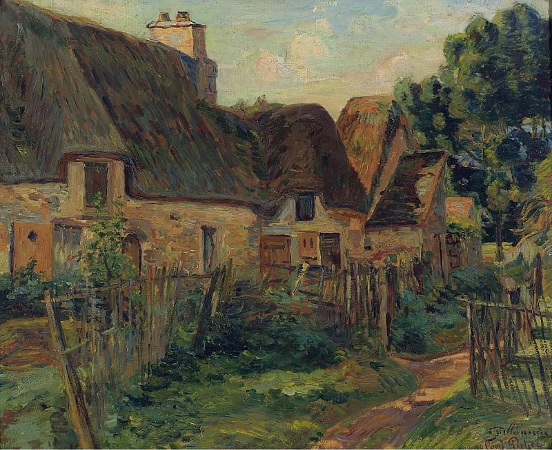 Armand Guillaumin - Landscape of Ile de France. Sotheby's