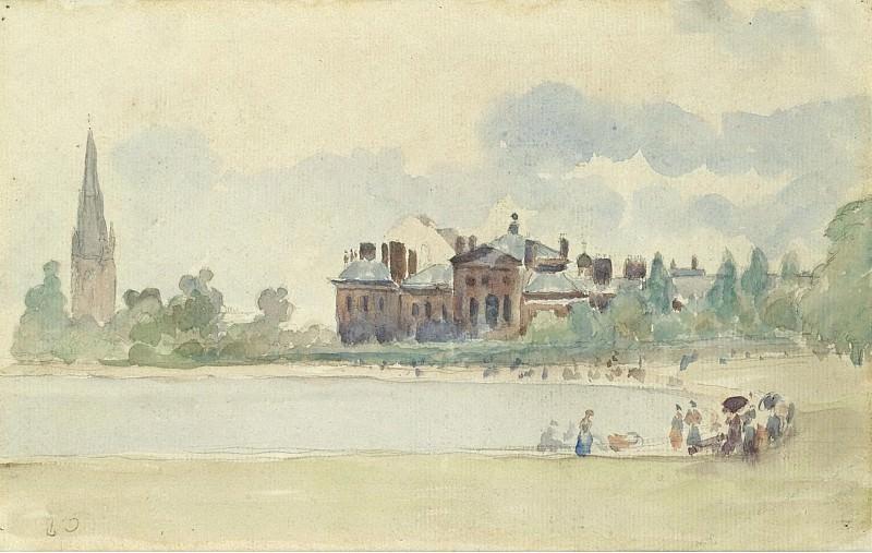 Camille Pissarro - Kensington Gardens, London, 1890. Sotheby's