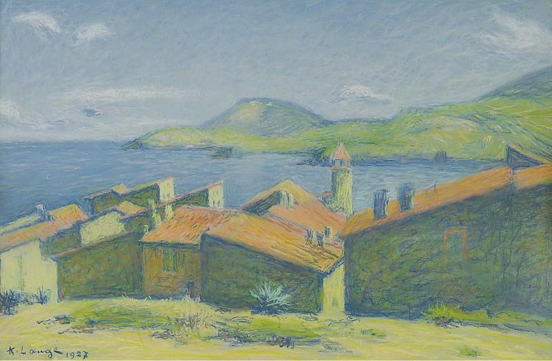 Achille Lauge - Collioure, 1927. Sotheby's