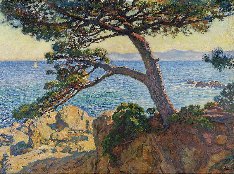 Theo van Rysselberghe - The Pin of Fossette, 1919. Sotheby's