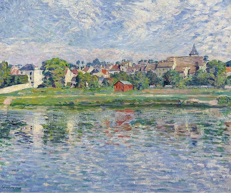 Henri Lebasque - Lagny, the Banks of Marne, 1900. Sotheby's