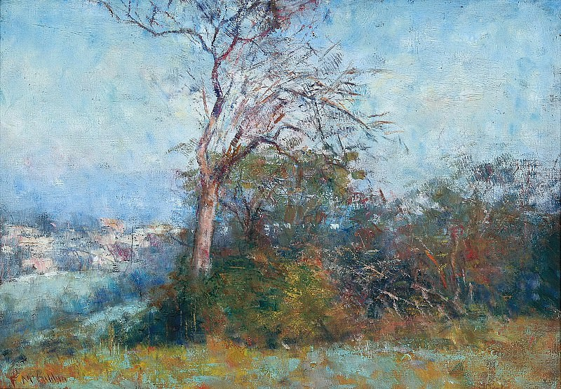 Frederick McCubbin - Autumn Afternoon. Sotheby's
