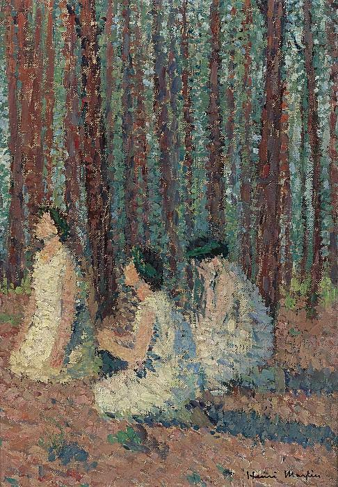 Henri Martin - Three Women, 1910. Sotheby's
