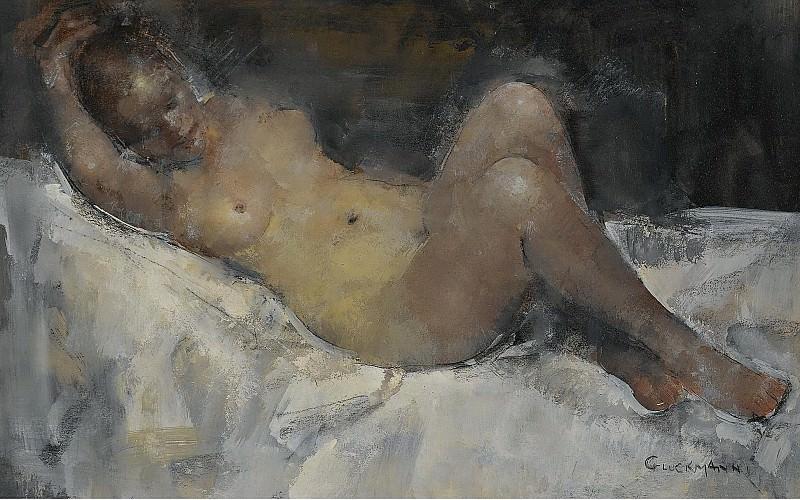 Grigory Gluckmann - Nude. Картины с аукционов Sotheby's