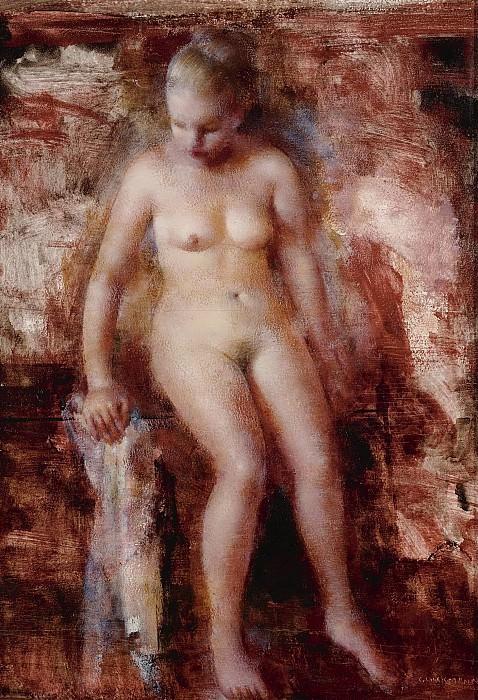 Grigory Gluckmann - The Break. Sotheby's
