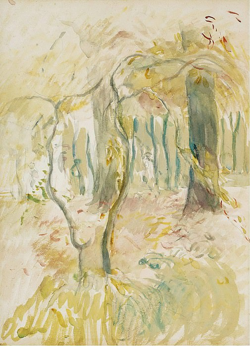 Berthe Morisot - The Thicket, 1894. Sotheby's