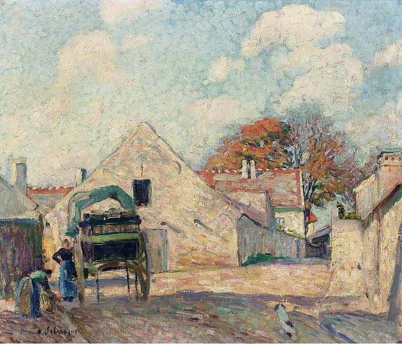 Henri Lebasque - Montevrain, 1900. Sotheby's