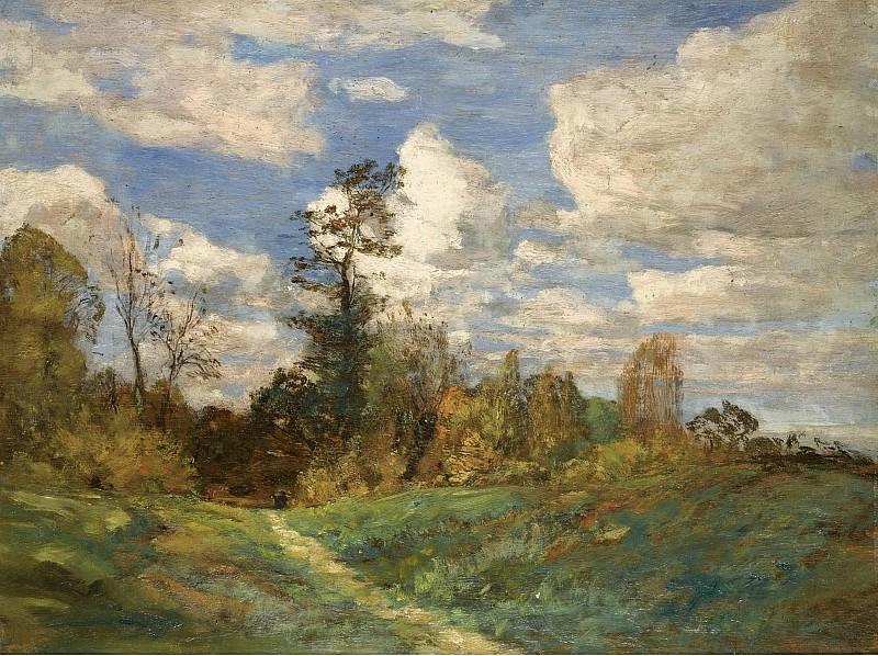 Eugene Boudin - Forest Landscape, 1856-60. Sotheby's