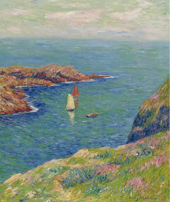 Henry Moret - The Isle of Ouessant. Картины с аукционов Sotheby's