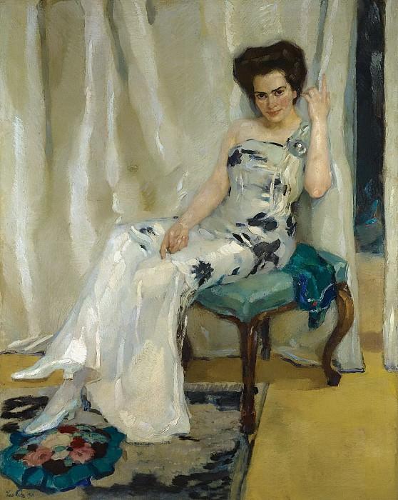 Leo Putz - Cara Sophia Kohler, 1911. Sotheby's