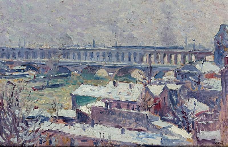 Maximilien Luce - The Seine. Sotheby's