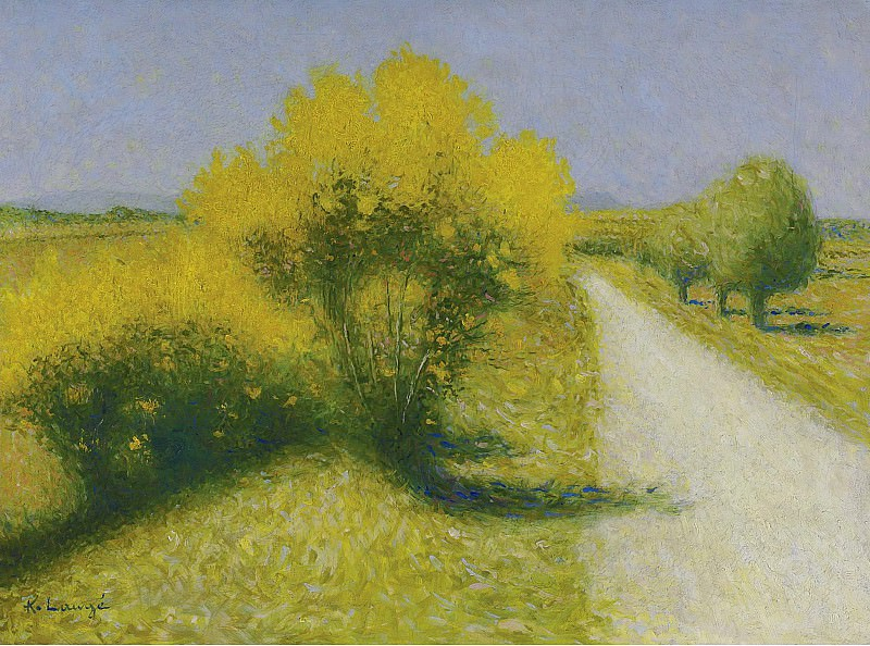 Achille Lauge - The Road near Cailhau. Sotheby's