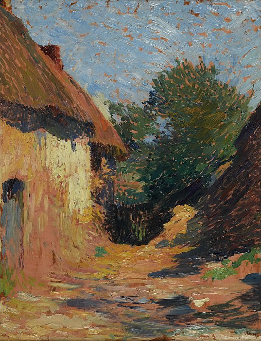Henri Martin - The Cabin. Sotheby's