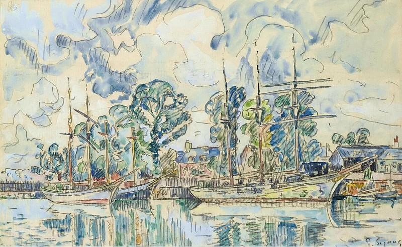 Paul Signac - Paimpol. Sotheby's