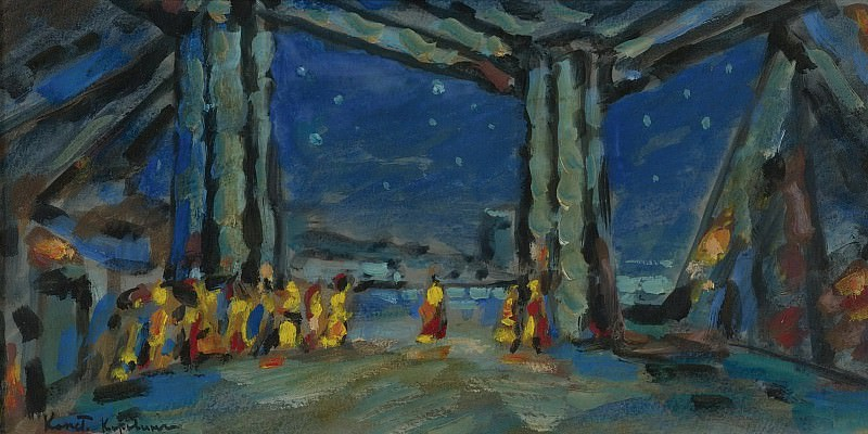 Constantin Korovin - Stage Design. Картины с аукционов Sotheby's