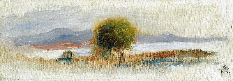 Pierre Auguste Renoir - Cagnes Landscape, 1910 02. Sotheby's