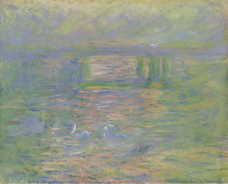 Claude Monet - Charing Cross Bridge, 1899-1901. Sotheby's