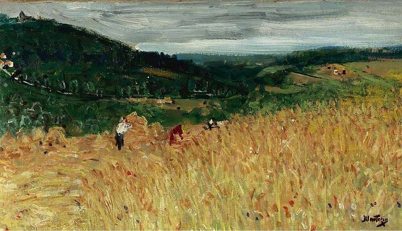 Pierre-Eugene Montezin - The Harvest. Sotheby's