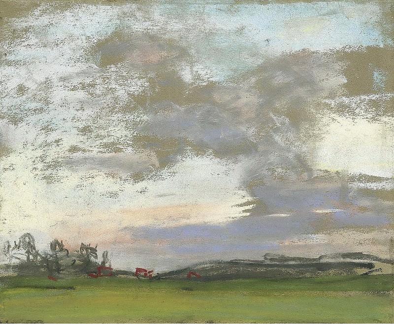 Claude Monet - Landscape. Sotheby's