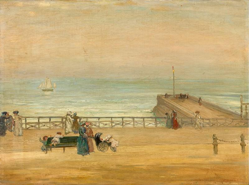 Charles Conder - Brighton, 1905. Sotheby's