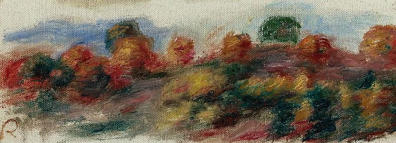 Pierre Auguste Renoir - Landscape, 1910. Sotheby's