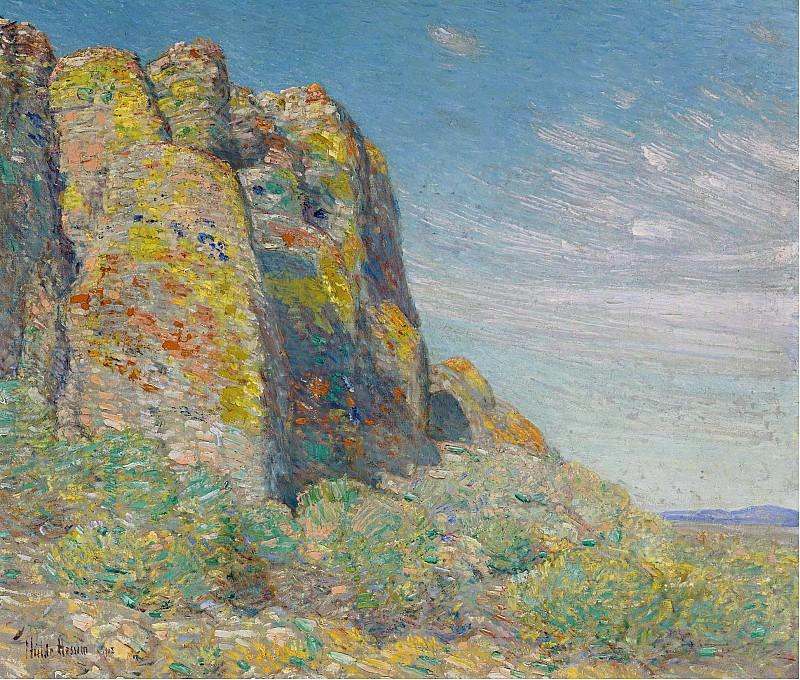 Frederick Childe Hassam - Harney Desert, 1908. Sotheby's