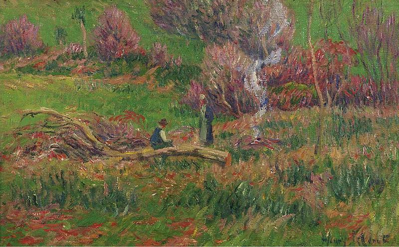 Henry Moret - Wood-Cutters. Картины с аукционов Sotheby's