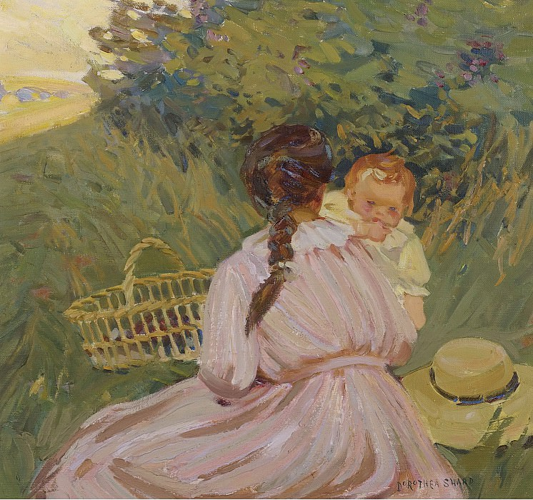 Dorothea Sharp - Sunday Picnic. Sotheby's