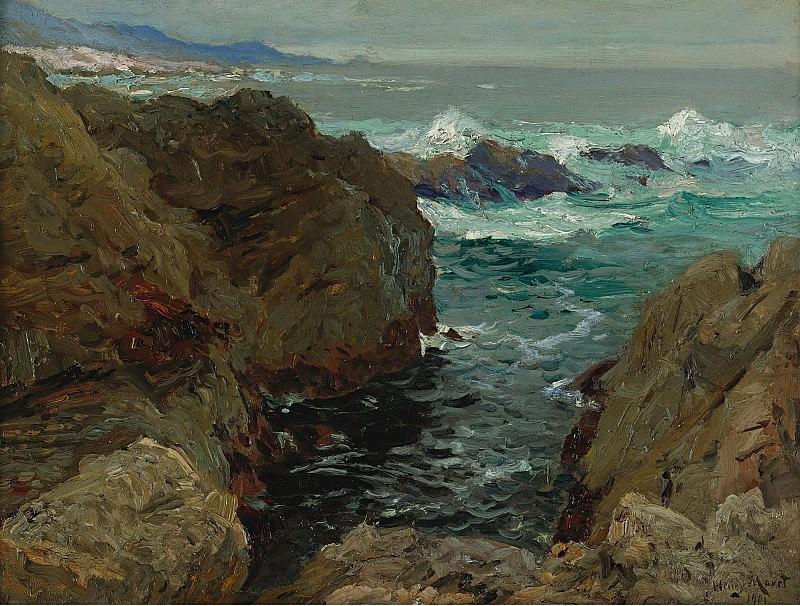 Henry Moret - Cote de Bretagne, 1901. Sotheby's