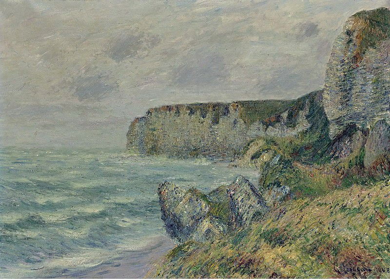 Gustave Loiseau - The Cliffs of Saint-Jouin, 1908 01. Sotheby's