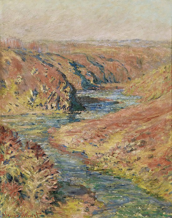 Claude Monet - The Valley of the Creuse at Fresselines, 1889. Sotheby's