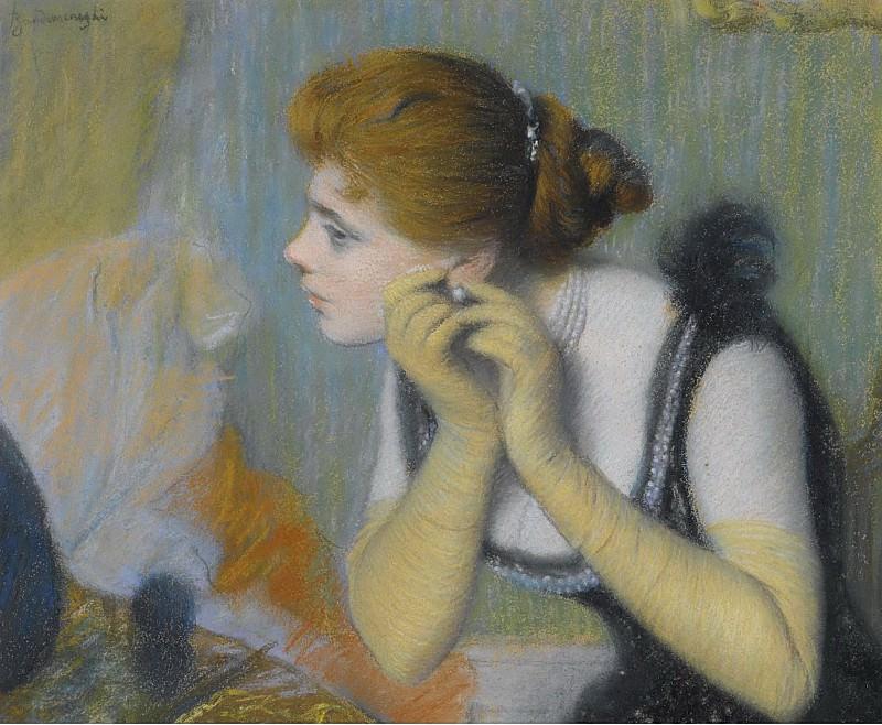 Federico Zandomeneghi - The Pearl. Sotheby's