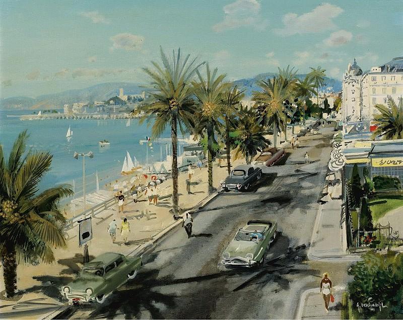 Gabriel Deschamps - Promenade des Anglais, Nice. Sotheby's