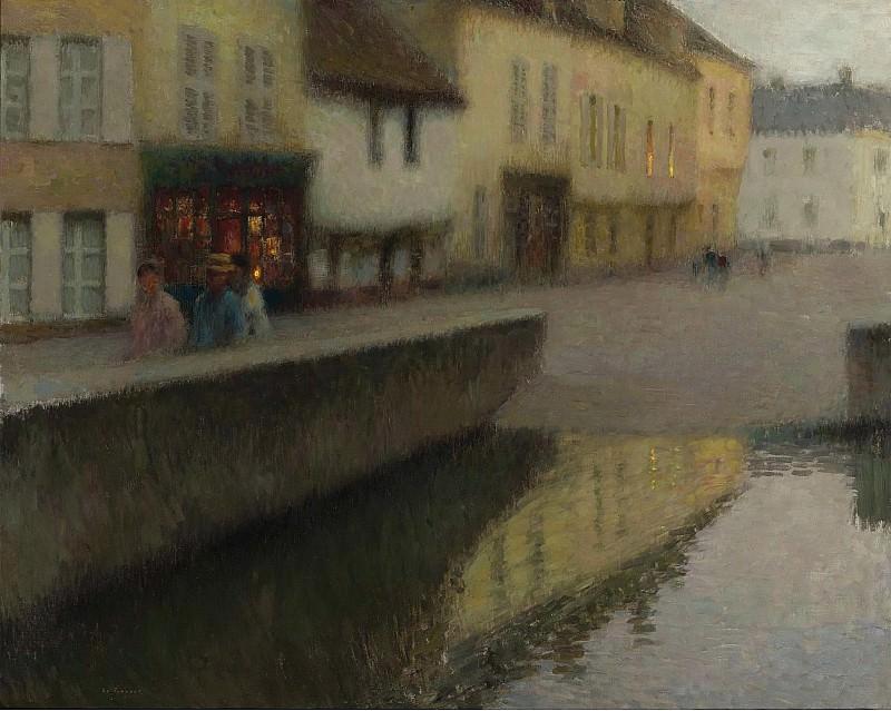 Henri Le Sidaner - Le Miroir, 1900. Sotheby's