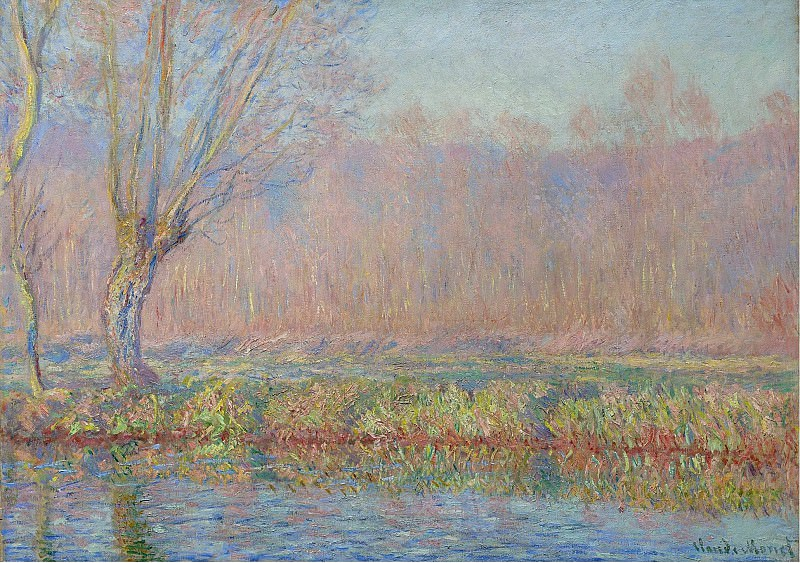 Claude Monet - The Willow, 1885. Sotheby's