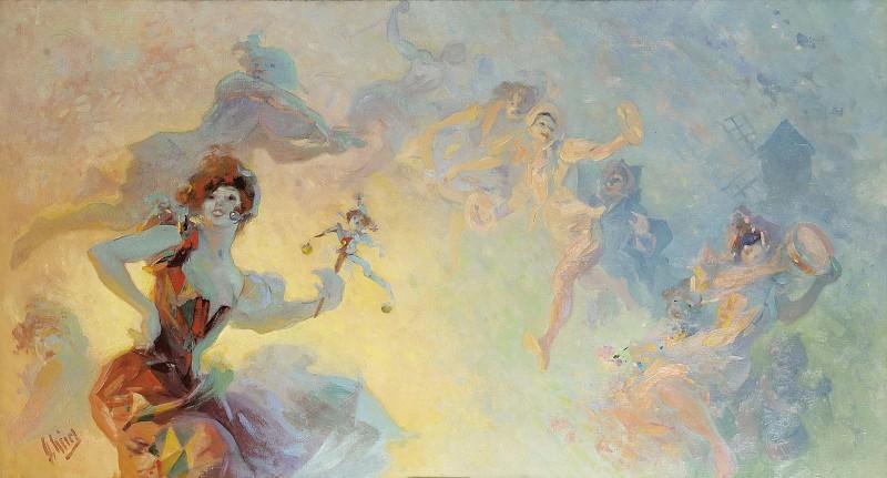 Jules Cheret - La Farandole. Sotheby's