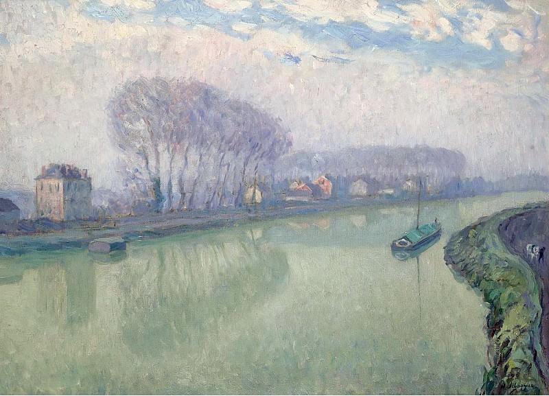 Henri Lebasque - The Marne at Pomponne, 1905. Sotheby's