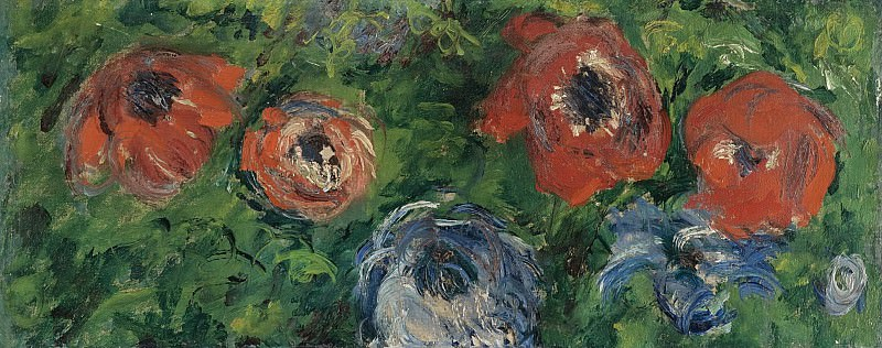 Claude Monet - Anemonies, 1885. Sotheby's