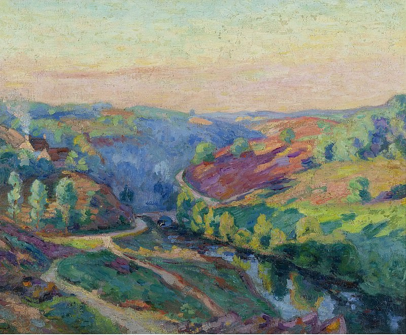 Armand Guillaumin - The Valley of Creuse. Sotheby's