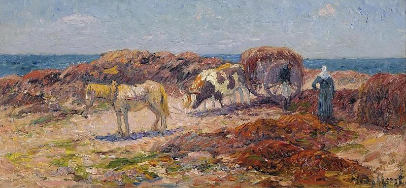 Henry Moret - Gathering of Seaweeds. Sotheby's