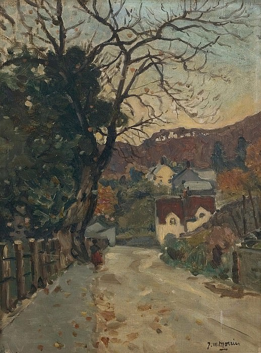 James Wilson Morrice - Trefriw, North Wales. Картины с аукционов Sotheby's