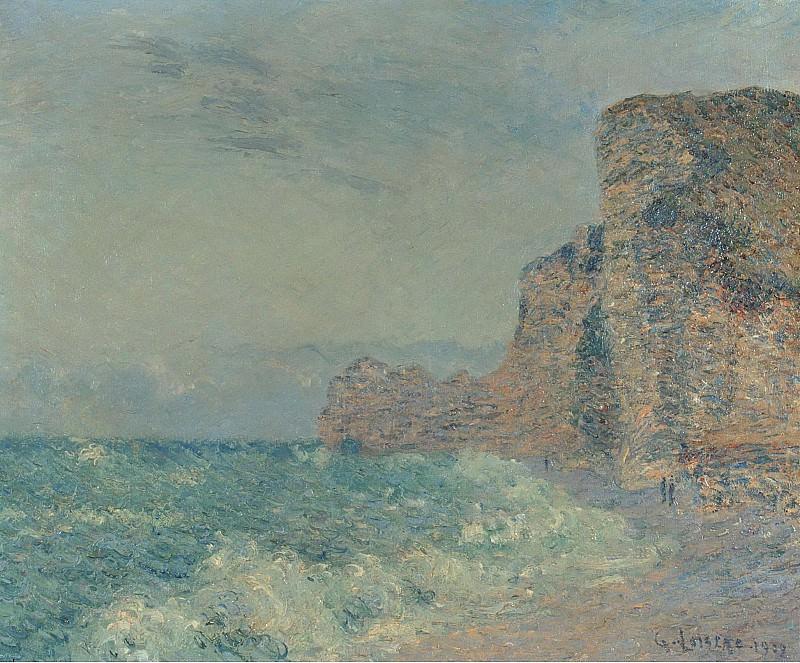 Gustave Loiseau - Porte dAmont, Etretat, 1902. Картины с аукционов Sotheby's