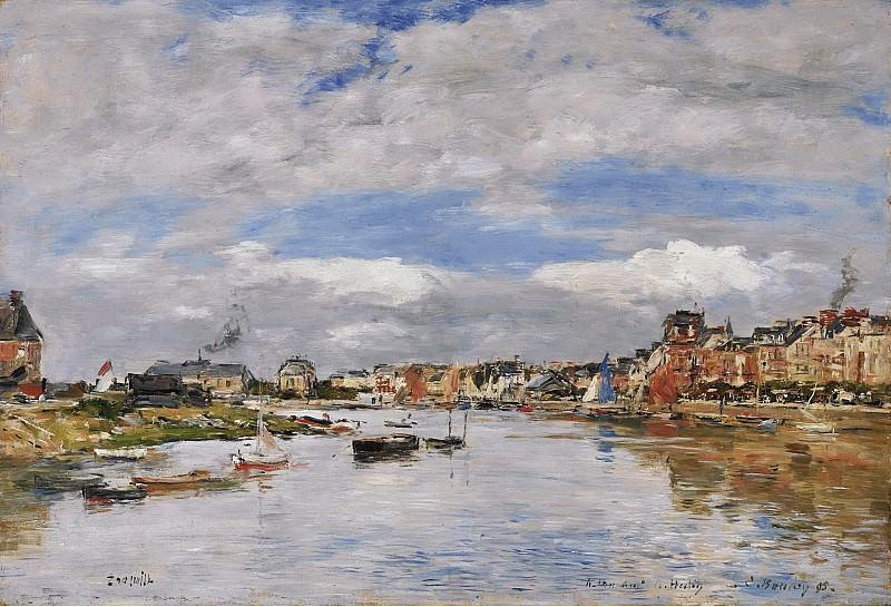 Eugene Boudin - Trouville, the Port, 1895. Sotheby's