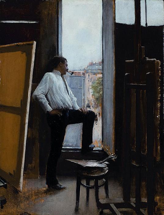 Jean Beraud In the studio 122088 1184. часть 3 -- European art Европейская живопись