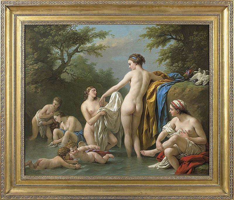 Louis Jean FranГ§ois LagrenГ©e Venus and Nymphs Bathing 26896 316. часть 3 -- European art Европейская живопись